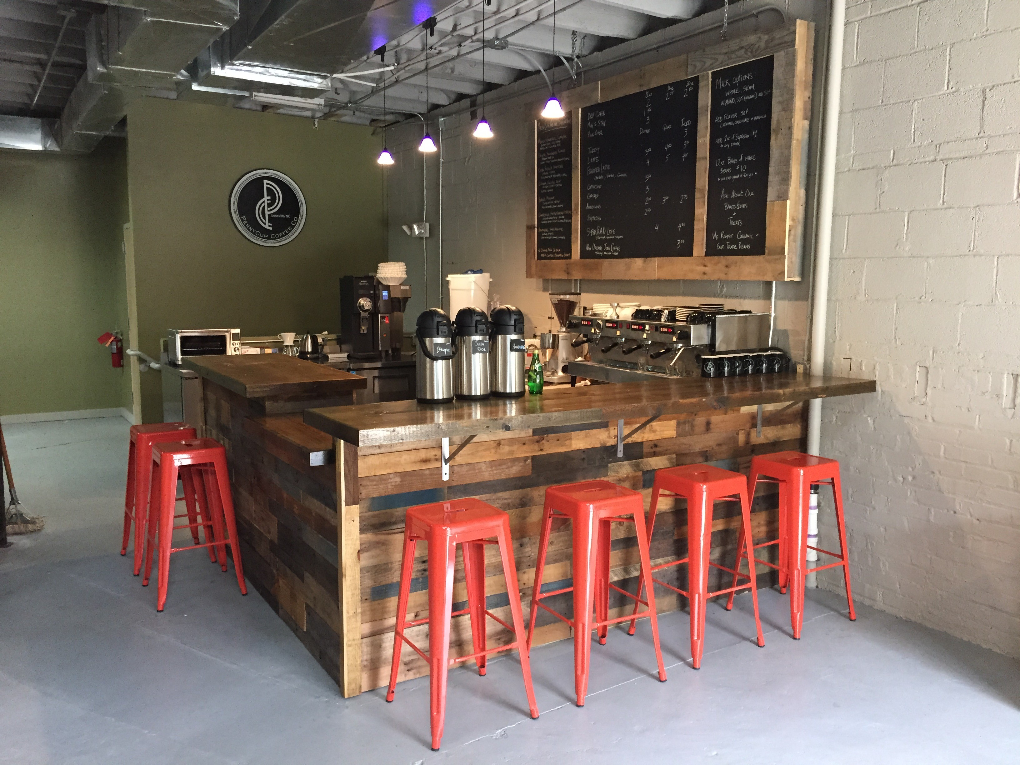 PennyCup Coffee Co - Depot Street West Asheville