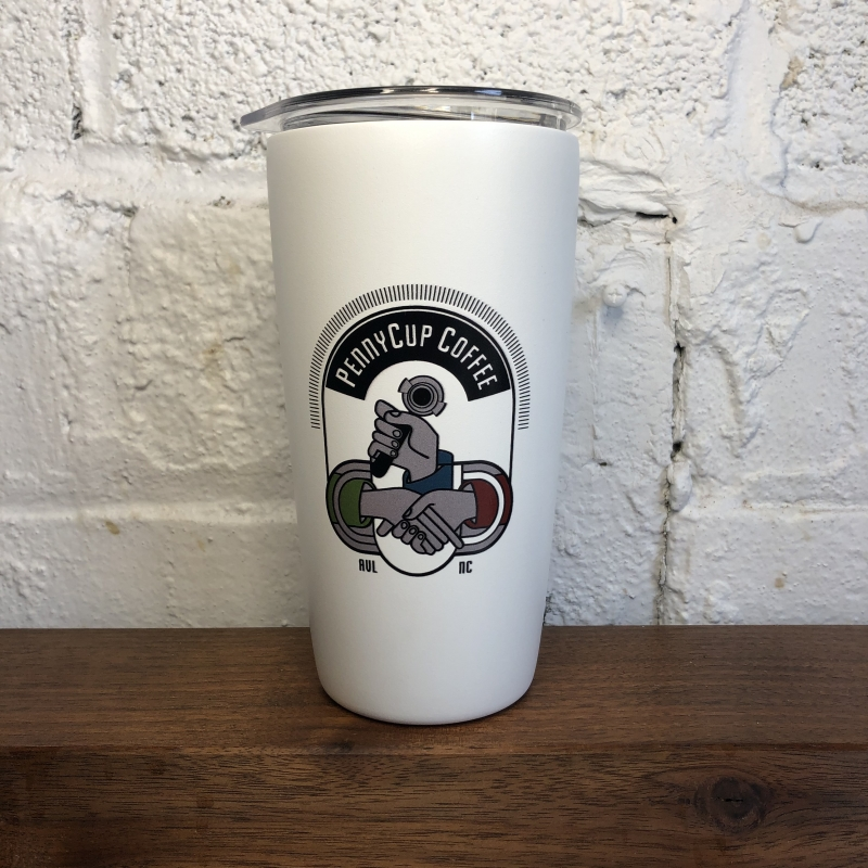 stainless steel coffee tumble/travel mug